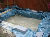 Hot tub foundations