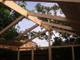 Timber frame for enclosure