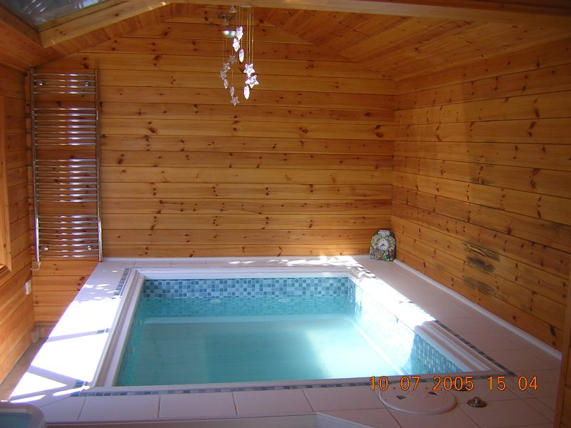 how wood spa spot steps your a seaotter build blog hot own to tub