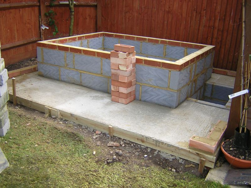 building a hot tub